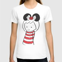 minnie T-shirts featuring Minnie 4 by Little Moon Dance