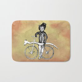 Bear's Bike Bath Mat