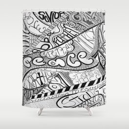 Call Out to God Shower Curtain