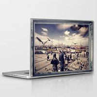 istanbul Laptop & iPad Skins featuring Istanbul by Anto Bozzini