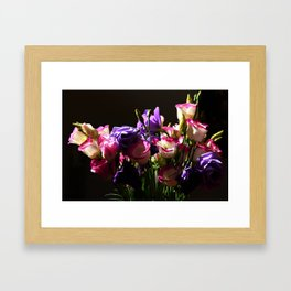 Fresh bouquet Framed Art Print