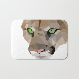 Cougar art Geometric Bath Mat