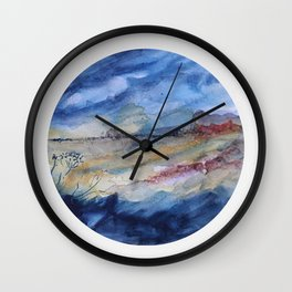 genius loci 2 Wall Clock