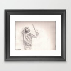 Justice Assassin  Framed Art Print