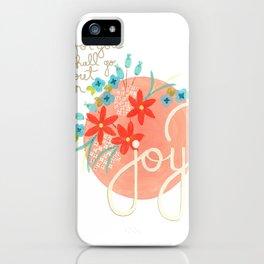 Isaiah Joy iPhone Case