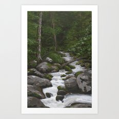 Waterville #3 Art Print