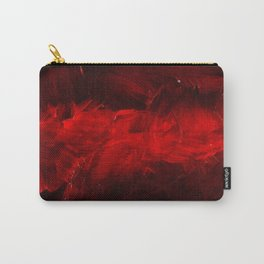 Cool Red Duvet Cover Carry-All Pouch