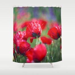 Field of lovee Shower Curtain