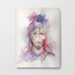Miyamoto Musashi Metal Print