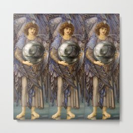 "Edward Burne-Jones ""The Days of Creation - Day 1"" Metal Print"