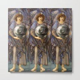 "Edward Burne-Jones ""The Days of Creation - Day 1"" Metal Print"
