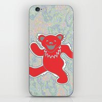 grateful dead iPhone & iPod Skins featuring Grateful Dead (Ohio State) (Vector Art) by Troy Arthur Graphics