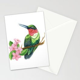 Summer Hummingbird Stationery Cards