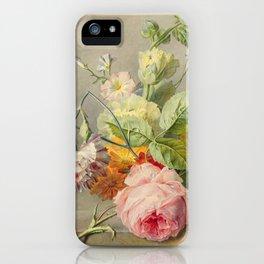 "George Jacobus Johannes van Os ""Floral Still Life"" iPhone Case"