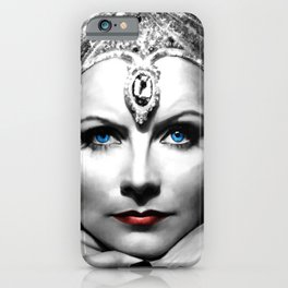 Greta Garbo Portrait iPhone Case