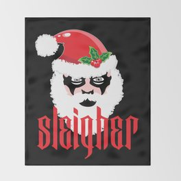 Sleigher | Christmas Xmas Parody Throw Blanket