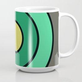 Mint Gray Target Coffee Mug