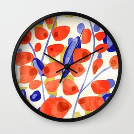 All Good Things Are Wild & Free #painting Wall Clock
