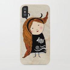 Aries girl iPhone X Slim Case