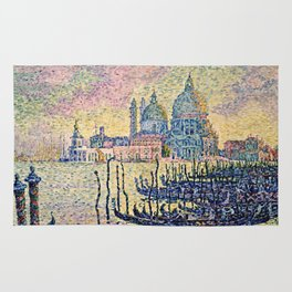 Paul Signac - Entrance To The Grand Canal  Venice. Rug