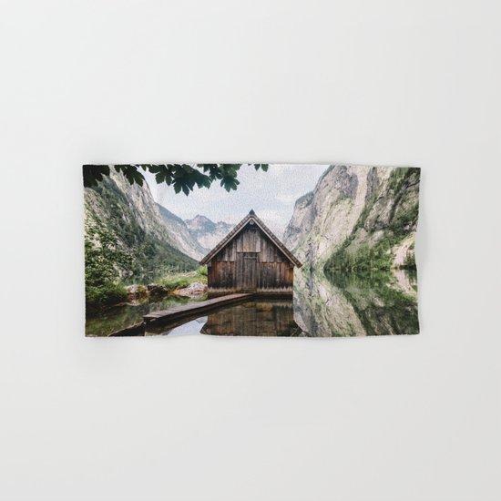 Famous cabin  Hand & Bath Towel