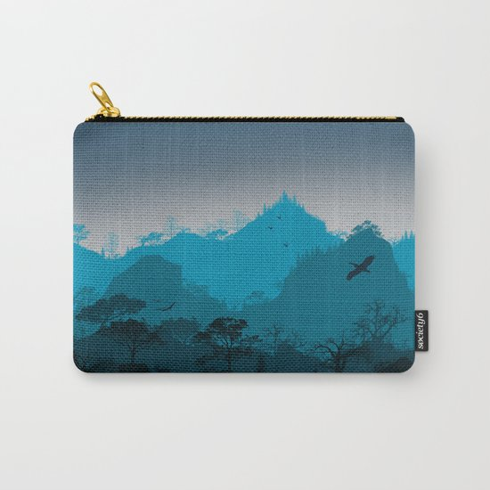 Dark mountain design Carry-All Pouch