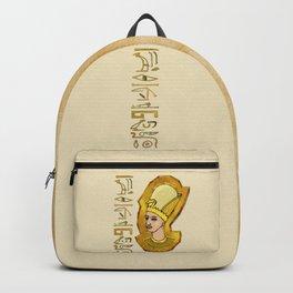 Pharaoh Hieroglyphics Egyptian Folk Art Backpack