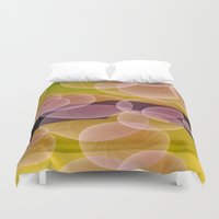 bubbles Duvet Covers featuring Bubbles by lillianhibiscus