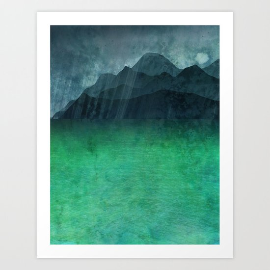 The Other Side of the River Art Print