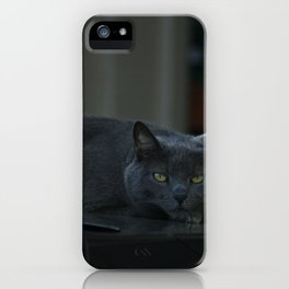 Grumpy iPhone Case