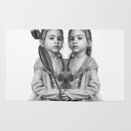 Sisters Twins Rug
