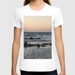 Sunset on the jeju  island sea in Korea. T-shirt