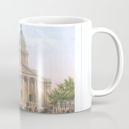 Paris Decor office decoration vintage decor LE PANTHEON of Paris Coffee Mug