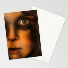 The Vampire stare Stationery Cards