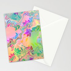 Florale fantasy Stationery Cards