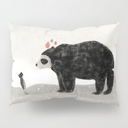Aia and spectacled bear Pillow Sham