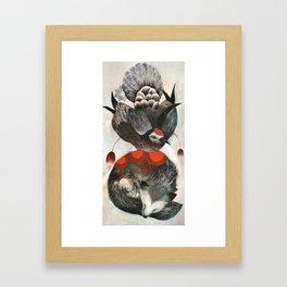 Dove & Fox Framed Art Print