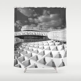 To the top of MetroPolParasol Shower Curtain