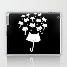 minima - cat rain Laptop & iPad Skin