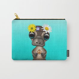 Cute Baby Platypus Hippie Carry-All Pouch