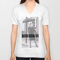 jessica lange V-neck T-shirts featuring Jessica Lange Fiona Goode Supreme by NameGame