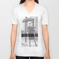 jessica lange V-neck T-shirts featuring Jessica Lange Fiona Goode Supreme by NameGame
