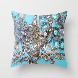 Tiffany Diamonds Throw Pillow