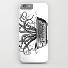 Tentacles in the Tub   Octopus   Black and White Slim Case iPhone 6s