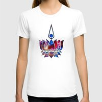 lotus flower T-shirts featuring Lotus by Spooky Dooky
