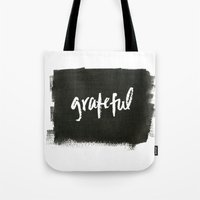 grateful dead Tote Bags featuring grateful by Social Proper