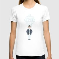 captain silva T-shirts featuring Indifferent Captain by Teo Zirinis