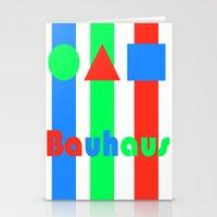 bauhaus Stationery Cards featuring Bauhaus by Retale