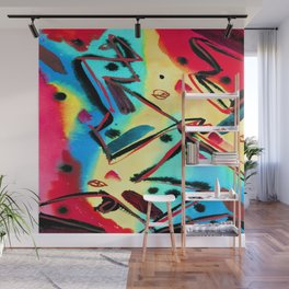 Fritz Stuckenberg Abstract Composition Wall Mural
