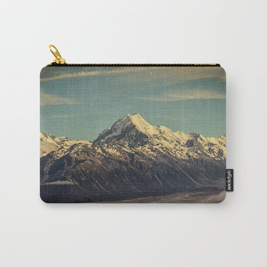 Vintage Mountain Carry-All Pouch